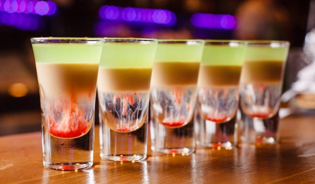 Алкогольный коктейль «Хиросима»