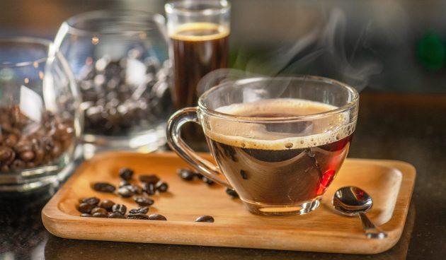 Кофе с мускатным орехом и финиками