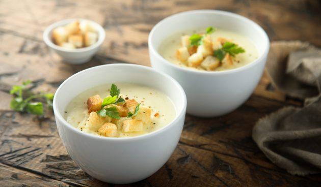 Пивной суп с сыром