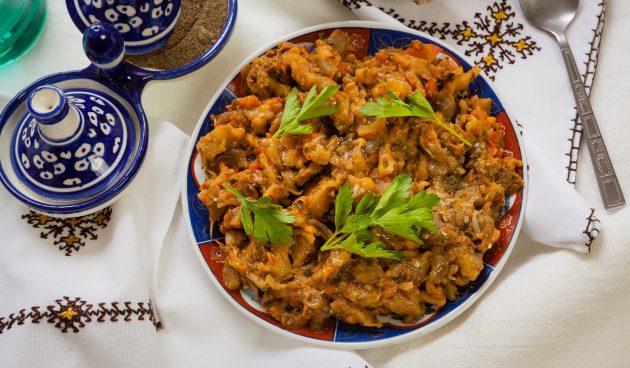 Заалук — марокканский салат из баклажанов