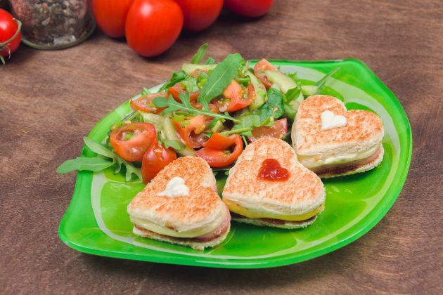 Горячие бутерброды для любимого человека
