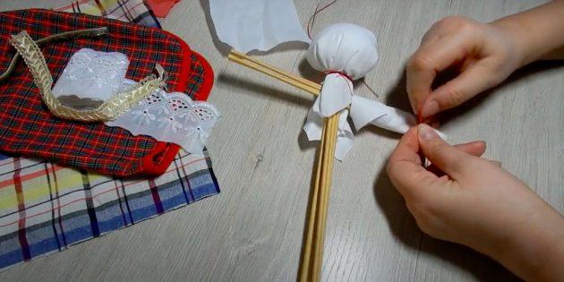 Кукла Масленица своими руками: сделайте руки