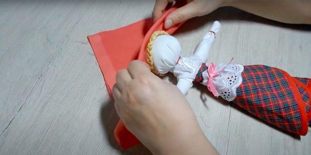 Кукла Масленица своими руками: повяжите яркий платок
