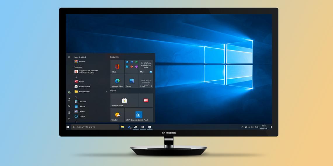 Как будет выглядеть Windows 10 Sun Valley