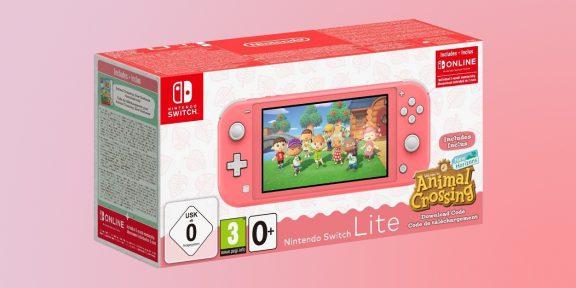 Цена дня: Nintendo Switch Lite с Animal Crossing: New Horizons за 15 774 рубля