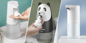 10 бесконтактных дозаторов мыла с AliExpress