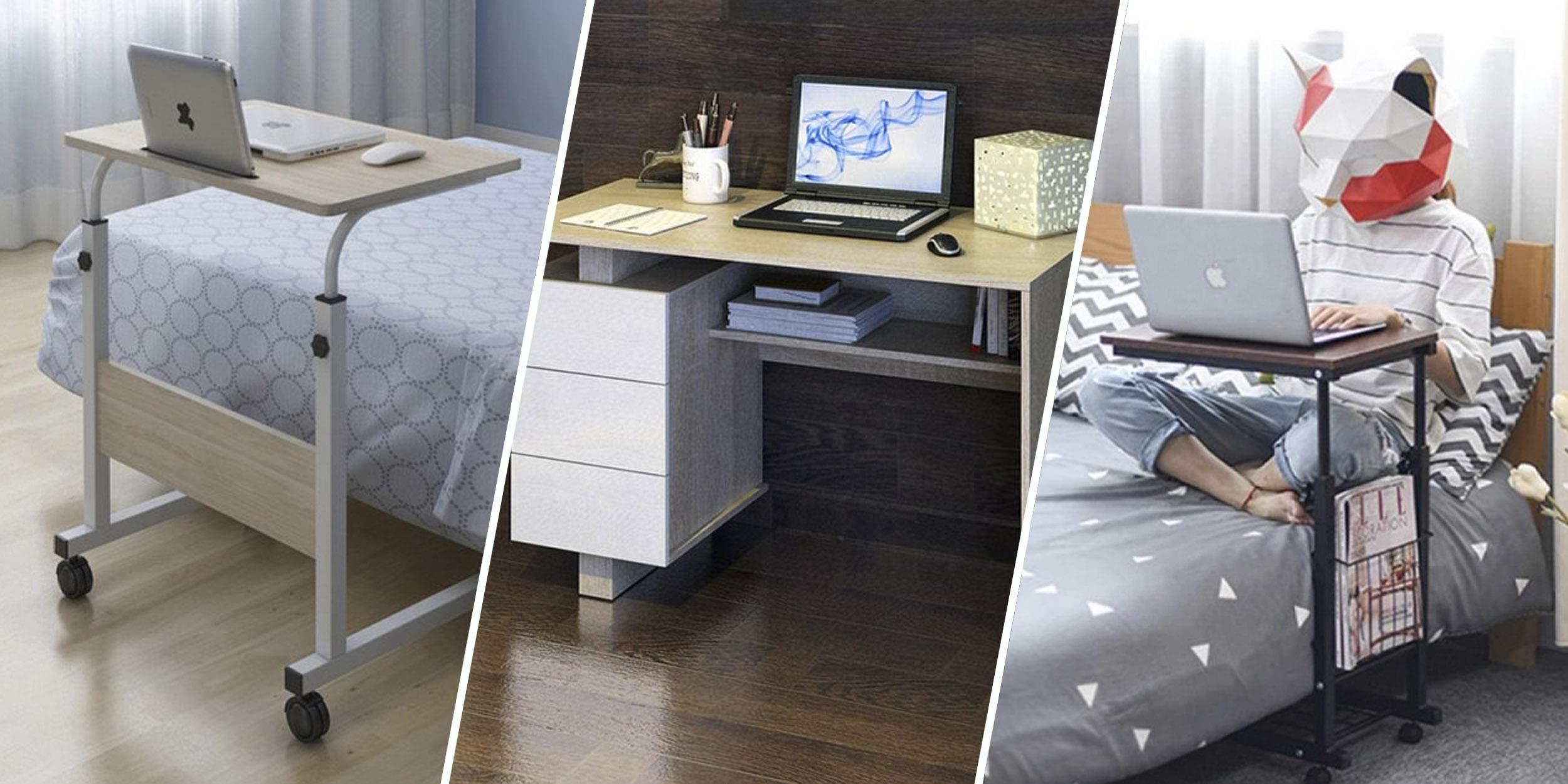 10 удобных компьютерных столов для дома