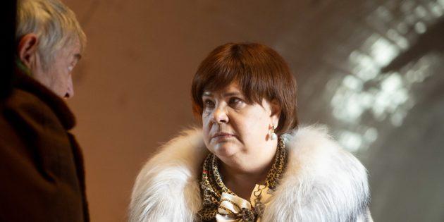 Юрий Стоянов и Татьяна Догилева в сериале «Вампиры средней полосы»