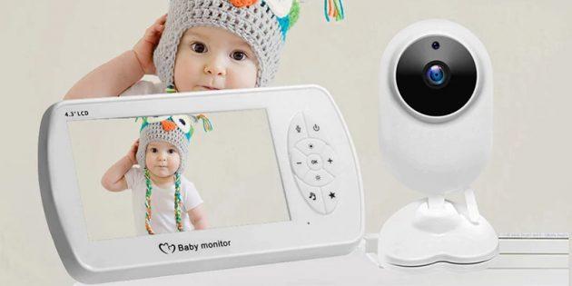 Видеоняня с AliExpress SecTec Babyfoon