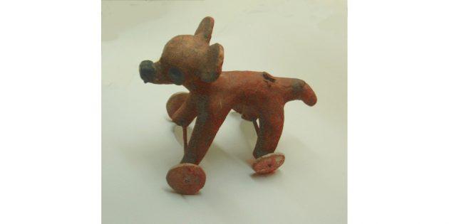 Культура майя: игрушка с колёсиками из Нового Света