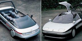 Ретрофутуризм: 10 автомобилей, которые были слишком фантастичными для своего времени