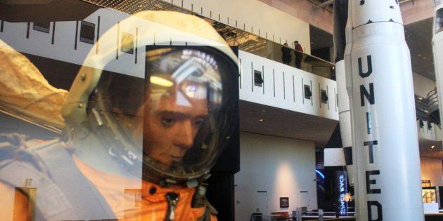 «Первый космонавт» в Национальном музее авиации и космонавтики в 2013году