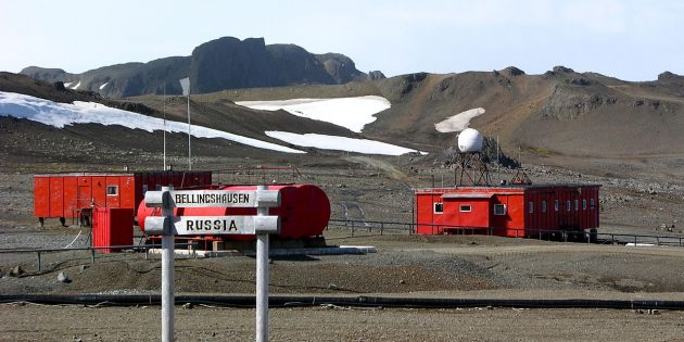 Антарктида: станция «Беллинсгаузен», 2012год