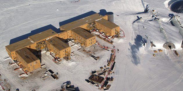 Антарктида: станция «Амундсен — Скотт», 2005год