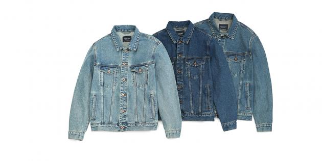 Классическая джинсовая куртка