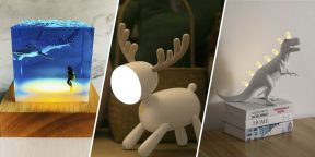 15 необычных декоративных светильников с AliExpress