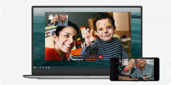В WhatsApp для Windows 10 и Mac появились голосовые и видеозвонки