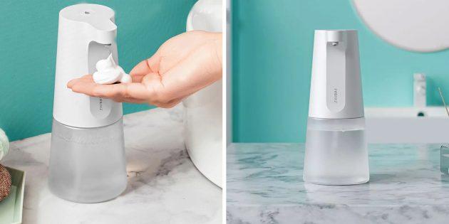 Бесконтактные дозаторы мыла: Zhibai Automatic Hand WL1