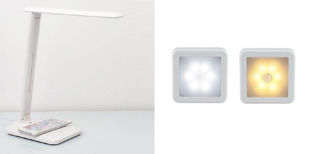Полезные товары с AliExpress: светильники