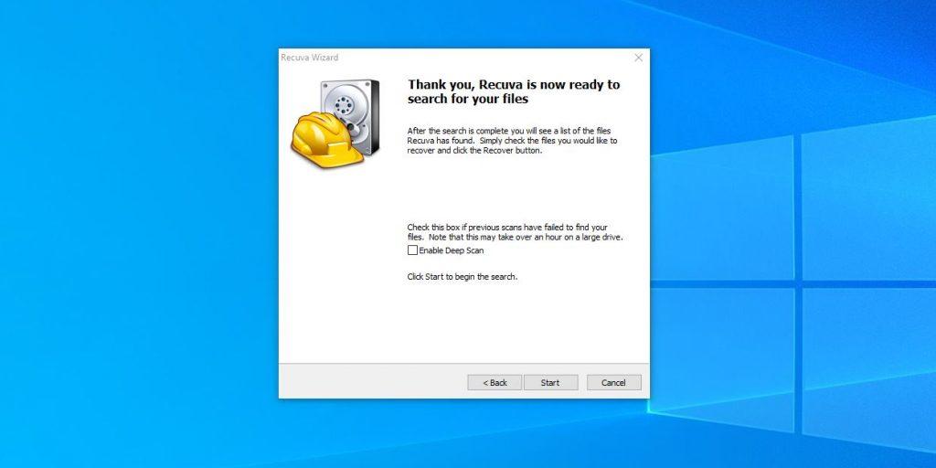 Как восстановить удалённые из «Корзины» файлы в Windows: при желании проведите более тщательное сканирование