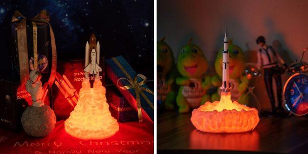 Необычные светильники с AliExpress: космический