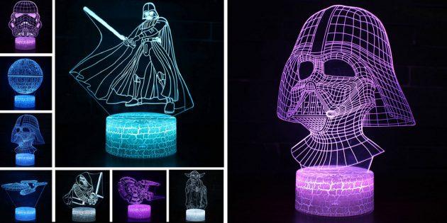 Необычные декоративные светильники с AliExpress: джедайский