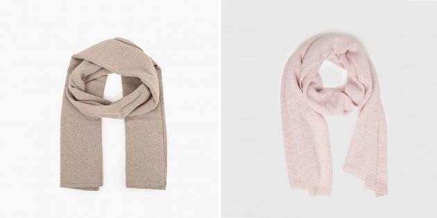 Подарки учителю на 8 марта: шарф