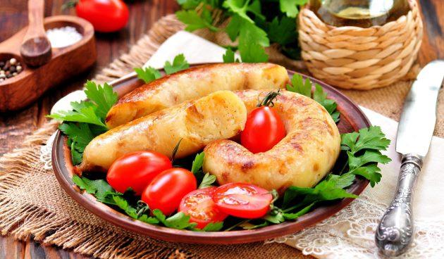 Ведарай — оригинальные картофельные колбаски