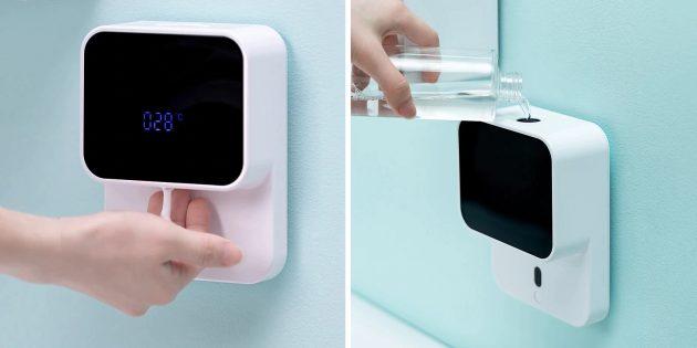 Бесконтактные дозаторы мыла: Shengdu Induction HandWasher