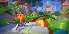 На iOS и Android вышел раннер Crash Bandicoot: On the Run (обновлено)