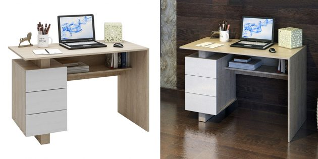 Компьютерные столы для дома: «Ренцо-2»