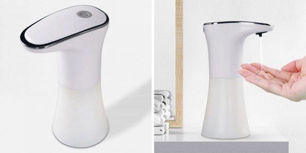 Бесконтактные дозаторы мыла: Automatic sensor soap dispenser