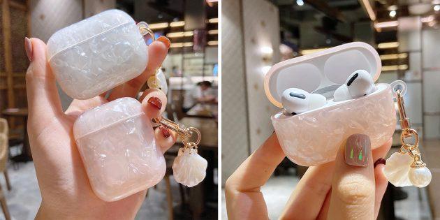 Чехлы для кейсов беспроводных наушников с AliExpress: в виде драгоценных камней