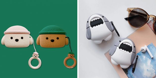 Умилительные чехлы‑игрушки для Huawei Freebuds 3 и Freebuds 3Pro