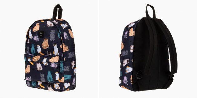 Рюкзак с котами Zain