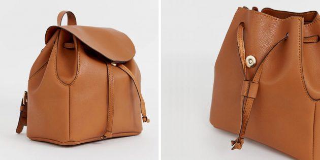 Рюкзак из искусственной кожи Asos Design