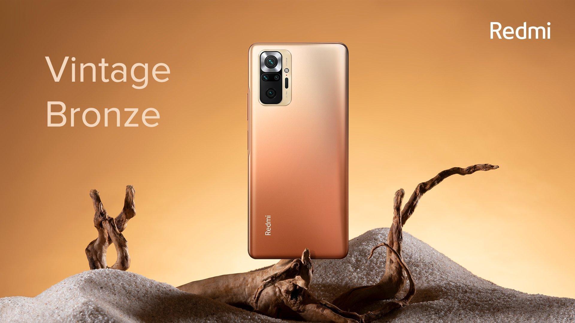 Xiaomi представила Redmi Note 10 и Note10Pro