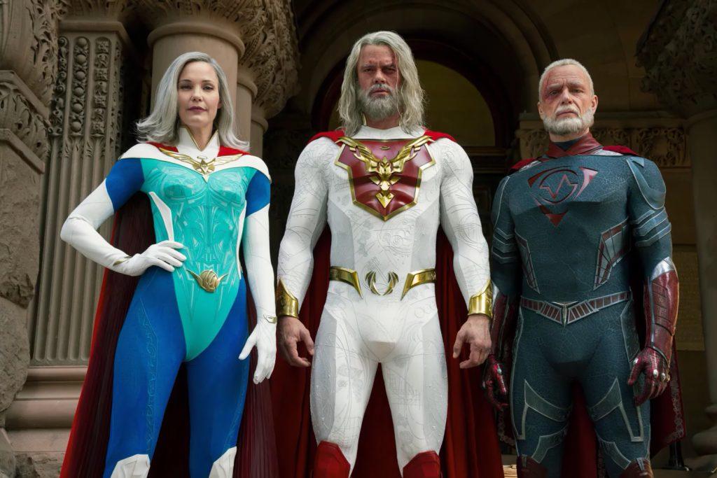 Netflix показал супергероев из сериала «Наследие Юпитера»