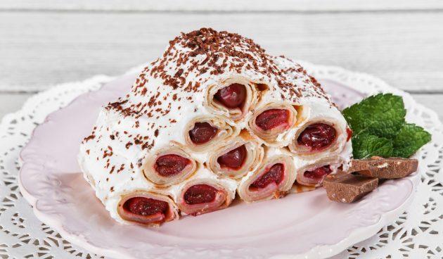 Блинный торт «Монастырская изба»