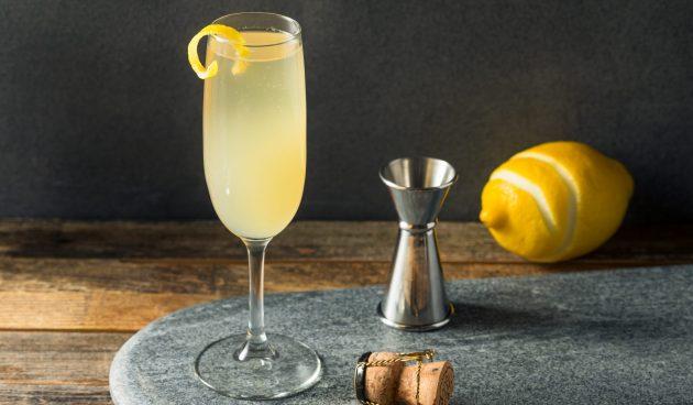 Алкогольный коктейль «Френч 75»