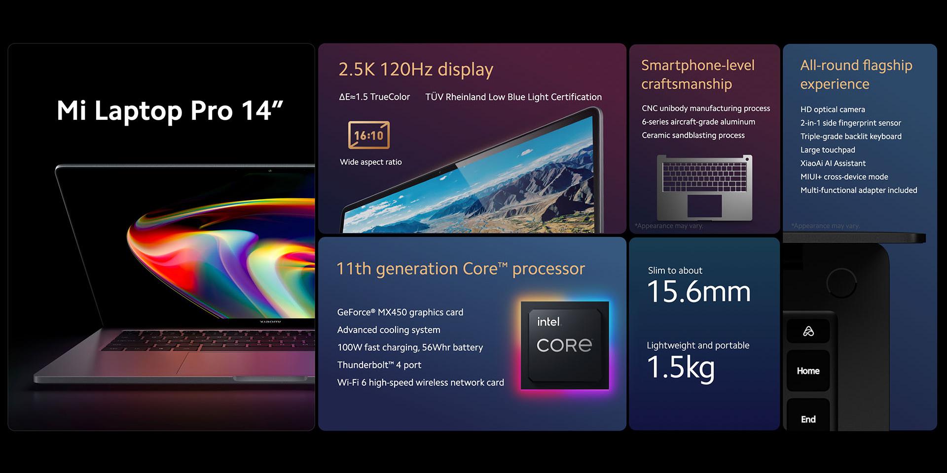 Xiaomi выпустила топовый ноутбук Mi Notebook Pro 15 с OLED-дисплеем