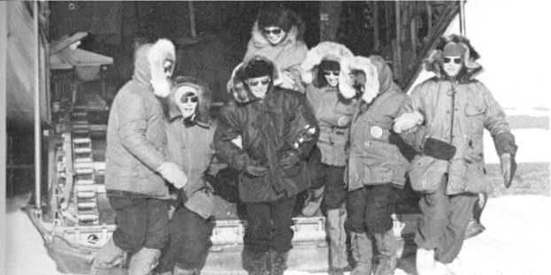 Антарктика: первые женщины на Южном полюсе, 1969год