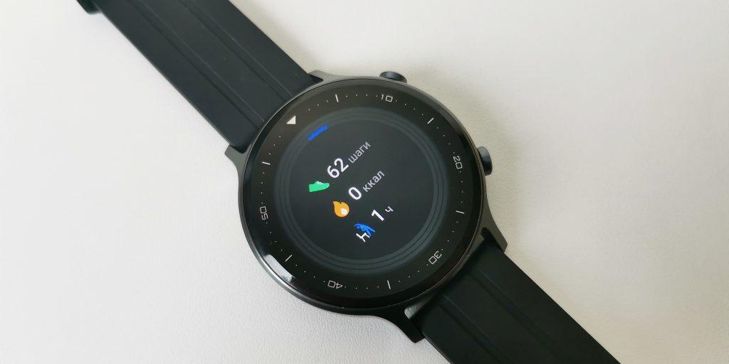 Обзор Realme Watch S: карточка активности