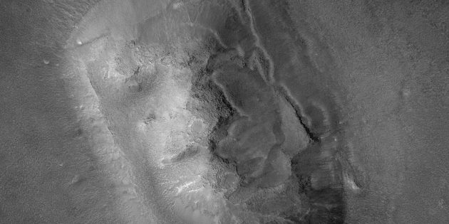 Космос: «Марсианский сфинкс» при более близком рассмотрении