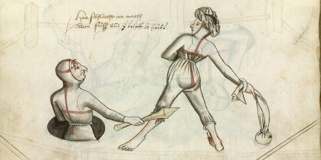Руководство по фехтованию, составленное в 1459году Гансом Тальхоффером
