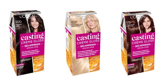 Как покрасить волосы дома: используйте хорошую краску, например L'Oreal Paris Casting Creme Gloss