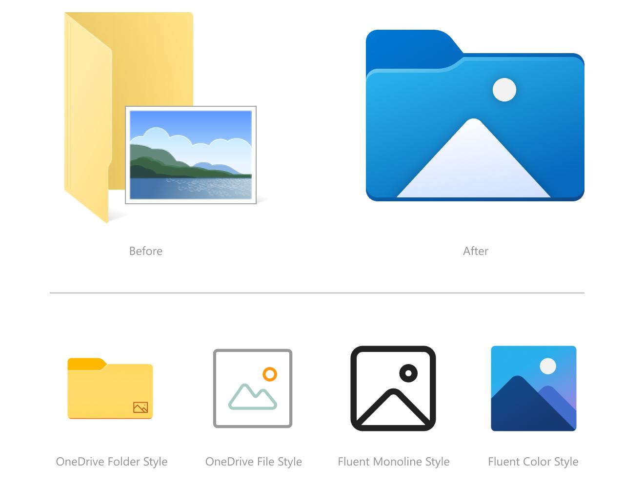 Windows 10 иконки