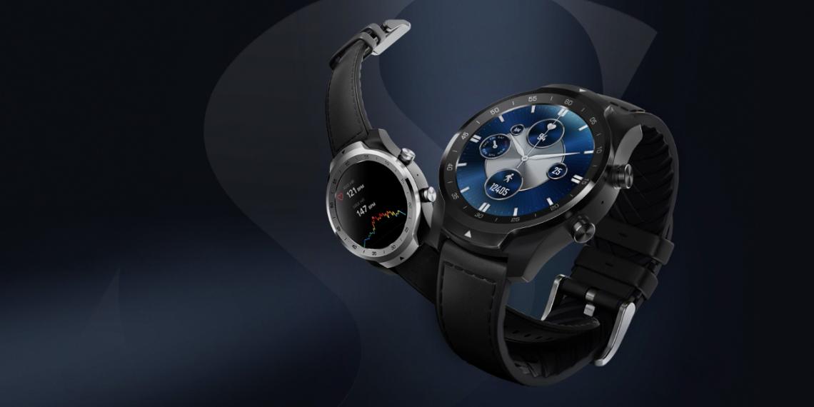 Mobvoi представила умные часы TicWatch Pro S