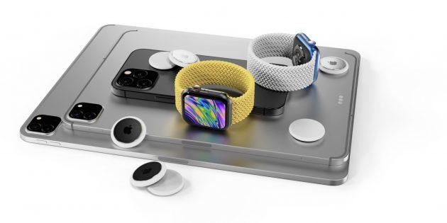 Новые подробности про iPhone 13 и AirTag