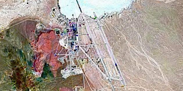 Вид на базу со спутника
